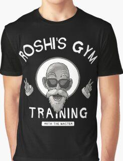 Muten Roshi Training Graphic T-Shirt