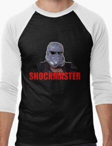 The Shockmaster Classic Wrestling Men's Baseball ¾ T-Shirt