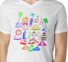 Holiday-Cultures  Mens V-Neck T-Shirt