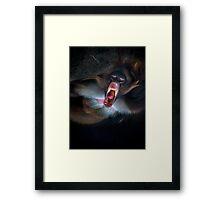 Exorcising demons Framed Print