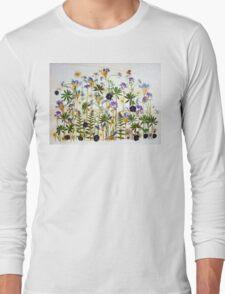 Floral garden party Long Sleeve T-Shirt