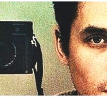 John Mayer: Photographer Sticker