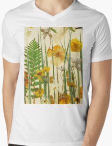 Floral Sunshine 3 Mens V-Neck T-Shirt