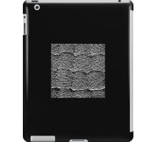 Black and White Abstract Digital Skeins of Yarn Design iPad Case/Skin