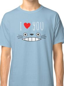 Totoro - I love you Classic T-Shirt
