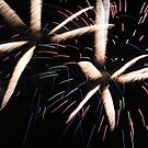 Fireworks abstract 4 2015 by marybedy