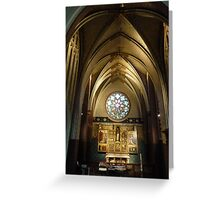 Cathedrale Notre-Dame - Antwerp Belgium Greeting Card