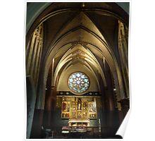 Cathedrale Notre-Dame - Antwerp Belgium Poster
