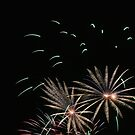 Fireworks abstract 15 2015 by marybedy