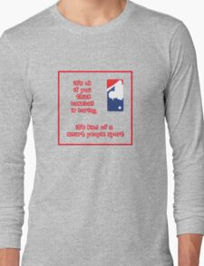 It's ok if you think... Long Sleeve T-Shirt