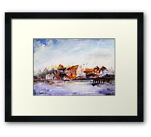 waterscape 2 Framed Print