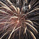 Fireworks abstract 22 2015 by marybedy