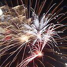 Fireworks abstract 30 2015 by marybedy