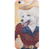 Doggy Parton (Just a Country Girl) iPhone Case/Skin