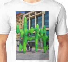 Green Sculpture Unisex T-Shirt