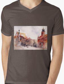 akwarelka 81 Mens V-Neck T-Shirt