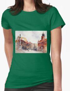 akwarelka 81 Womens Fitted T-Shirt