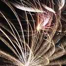 Fireworks abstract 35 2015 by marybedy