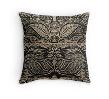 ink design Throw Pillow