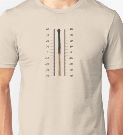 match thermometer Unisex T-Shirt