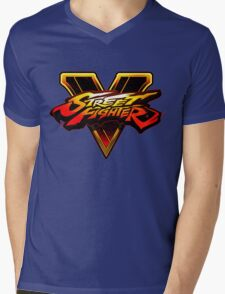 STREET FIGHTER V Mens V-Neck T-Shirt