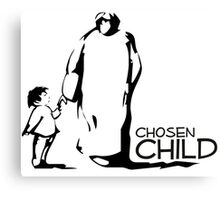 The chosen child Canvas Print