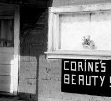 Corine's Beauty Shop Sticker