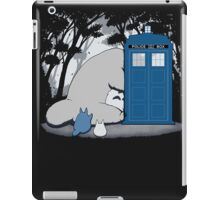 lazy totoro police box iPad Case/Skin