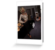 Adoring Fans Greeting Card