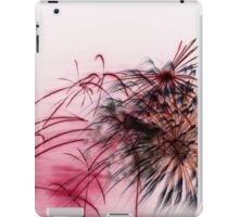 Black Flower with Red iPad Case/Skin