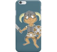 Littlest Khajiit Warrior iPhone Case/Skin