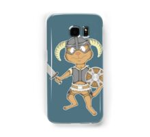 Littlest Khajiit Warrior Samsung Galaxy Case/Skin