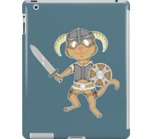 Littlest Khajiit Warrior iPad Case/Skin