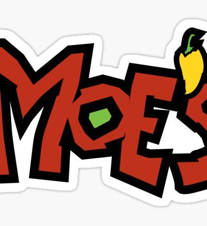 Moe's Sticker