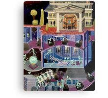Haunted mansion inspired  Metal Print