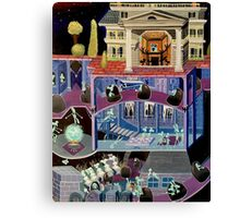 Haunted mansion inspired  Canvas Print