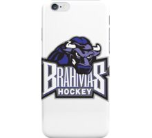 Brahmas hockey logo iPhone Case/Skin