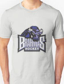 Brahmas hockey logo Unisex T-Shirt