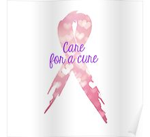 Care for a Cure Poster