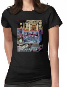 Haunted mansion inspired  Womens Fitted T-Shirt