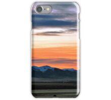 jan 2016 sunrising  Winnemucca area iPhone Case/Skin