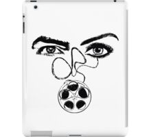 Film-Woman-Man-Eyes-Relationship  iPad Case/Skin