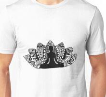 Yoga Lotus Flower Unisex T-Shirt