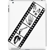 Film-Criminal-Lips-Gun-Hand-Footprints  iPad Case/Skin