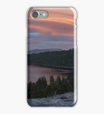Cloud Show over Emerald Bay iPhone Case/Skin