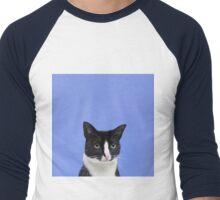 Majestic Cat Men's Baseball ¾ T-Shirt