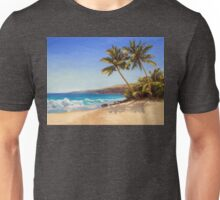 Big Island Getaway - Hawaiian Beach Seascape Unisex T-Shirt