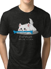Undertale - Papyrus's special attack Tri-blend T-Shirt