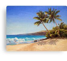 Big Island Getaway - Hawaiian Beach Seascape Canvas Print
