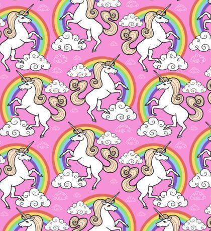 Unicorns pattern Sticker